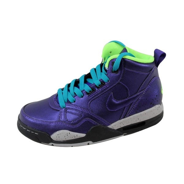 Nike Women's Flight '13 Mid Electro Purple/Electro Purple 616298-500 Size 6
