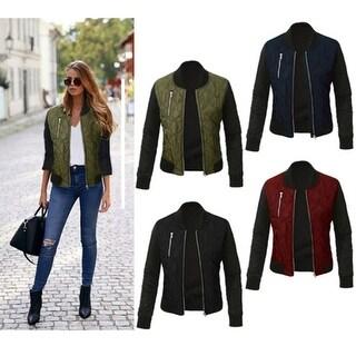 2017 Autumn Winter Women Slim Cotton Jackets Long Sleeve Solid Zipper Party Femme Ladies Outwear short Coat Plus Size S-XXXL