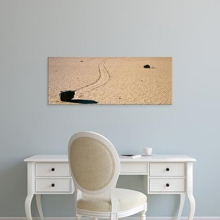 Easy Art Prints Panoramic Images's 'Racetrack, Death Valley National Park, California, USA' Premium Canvas Art