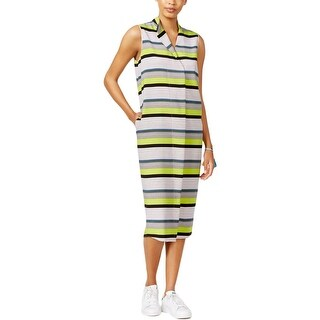 Rachel Rachel Roy Womens Wear to Work Dress Crepe Popover Green S
