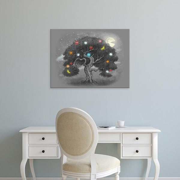Easy Art Prints Terry Fan's 'Midnight Snack' Premium Canvas Art