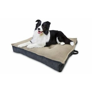 """AKCA AKC6936 Jumbo Extra Dense Square Pet Bed, Assorted Colors, 36"""""""