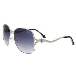 Roberto Cavalli RC887S 16B Meissa Silver Aviator Sunglasses - 59-16-130