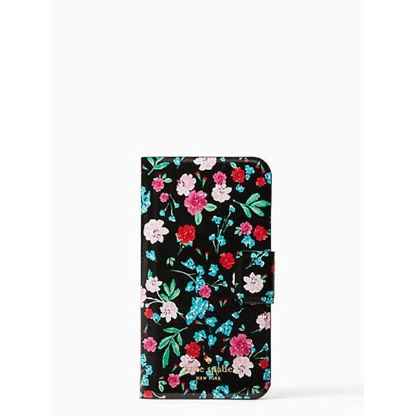 hot sales 08422 258bb Shop Kate Spade New York Greenhouse Folio Case for iPhone X - Free ...