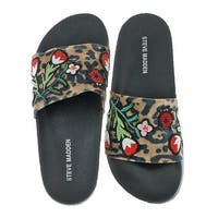 Steve Madden Womens Patches Slide Sandals Summer Slide
