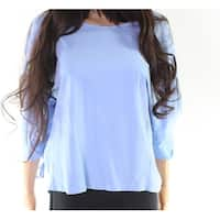 Mello Day Women's Small Cinched Sleeve Dolman Blouse
