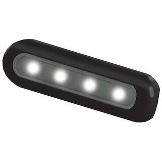 TACO 4-LED Deck Light - Flat Mount - Black Housing - F38-8805W-1