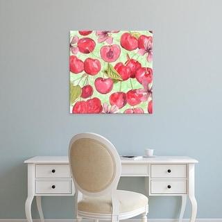 Easy Art Prints Leslie Mark's 'Cherry Medley I' Premium Canvas Art
