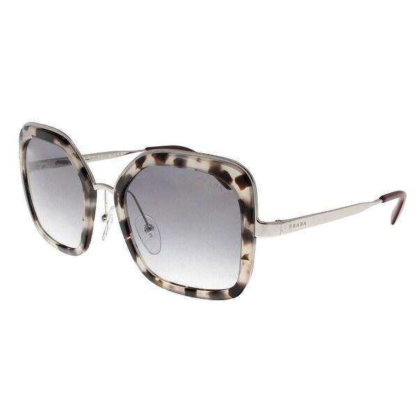 9e69b6329a Prada PR57US UAO409 CATWALK Spotted Opal Brown Square Sunglasses - 54-22-140