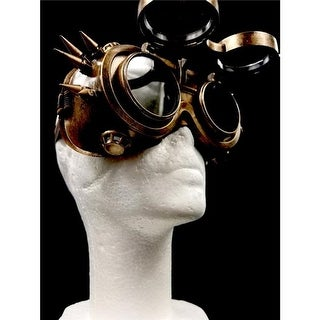 Kayso SPM041GD Spiked Binocular Lenses Can Open & Close, Gold