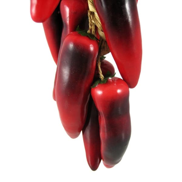 Red Chili Pepper Braid Kitchen Decor