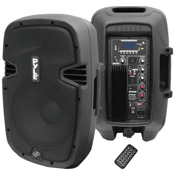 Pyle Pro powered speaker with mp3 bluetooth record function
