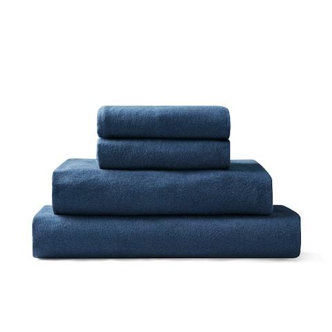 Brielle Home Cotton Flannel Bed Sheet Set