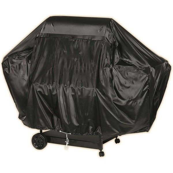 Char-Broil 7677621 Grill Cover for 5+ Burner, Black Vinyl, 63""