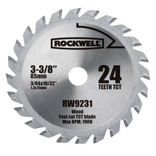 Rockwell RW9231 Versacut Carbide Blade, 24 Teeth