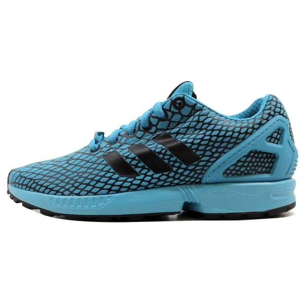 Adidas Men's ZX Flux Techfit Core Black/Blanch Sea Blue S79066