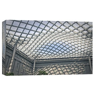 "PTM Images 9-103815  PTM Canvas Collection 8"" x 10"" - ""Kogod Courtyard National Portrait Gallery 1"" Giclee Buildings and"