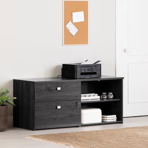 South Shore Interface 2-Drawer Credenza