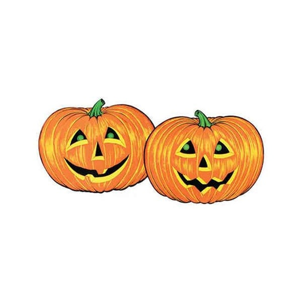 Jack O Lantern Faces Pack Of 12 Free Shipping Today 23294802