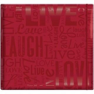 Gloss Post Bound Scrapbook 12 X12 -Live,