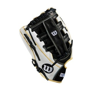 2018 Wilson A2000 Superskin 13 Glove White/Black/Vegas Gold, Left Hand Throw