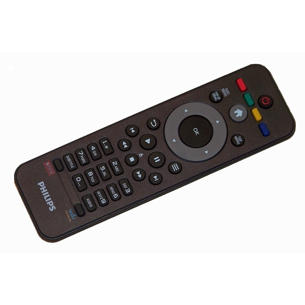 OEM Philips Remote Control Originally Shipped With: BDP2185, BDP2185/F7, BDP2185F7