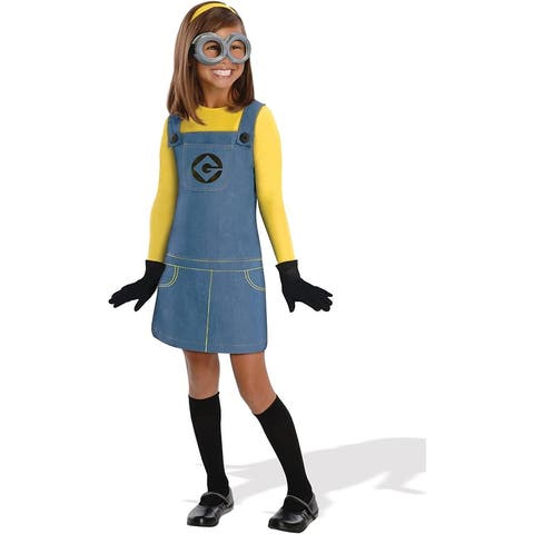 Despicable Me 2 Girl Minion Costume Child - Blue