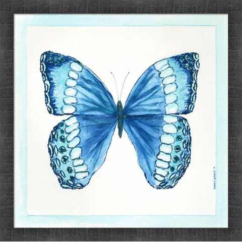 Cindy Shamp 'Butterfly II' Framed Art