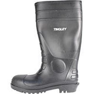 Tingley Rubber Corp.-Economy Pvc Knee Boots- Black Size 8 31151.08