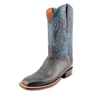 Lucchese Ant Men Square Toe Leather Multi Color Western Boot