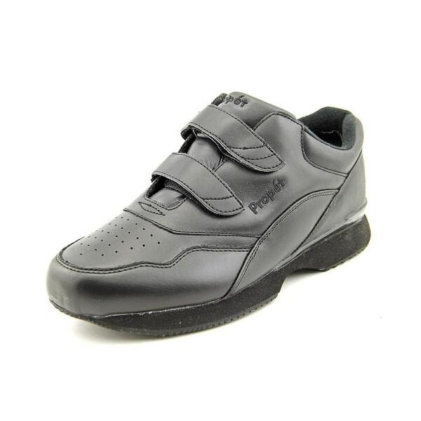 Propet Tour Walker Strap Women Black Walking Shoes