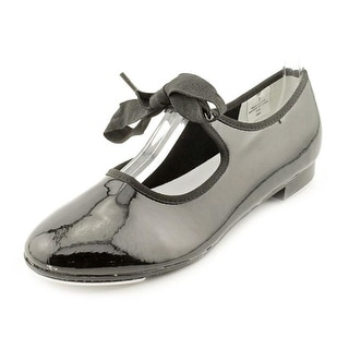 Dance Class By Trimfoot Company T101 Round Toe Patent Leather Dance