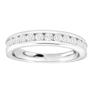 3/4 ct Diamond Anniversary Band Ring in Sterling Silver