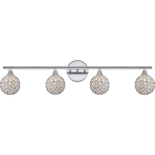 Platinum PCSR8604 Shimmer 4 Light Bathroom Vanity Light