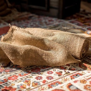 Rustic Reach Natural Burlap Fabric