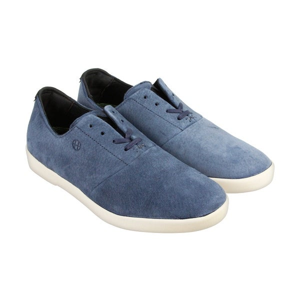 aa044c12994e00 Shop HUF Gillette Mens Blue Suede Lace Up Sneakers Shoes - Free Shipping On  Orders Over  45 - Overstock - 14353991