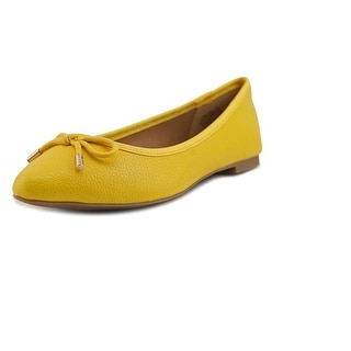 Nine West Christeel1 Women Pointed Toe Synthetic Yellow Flats