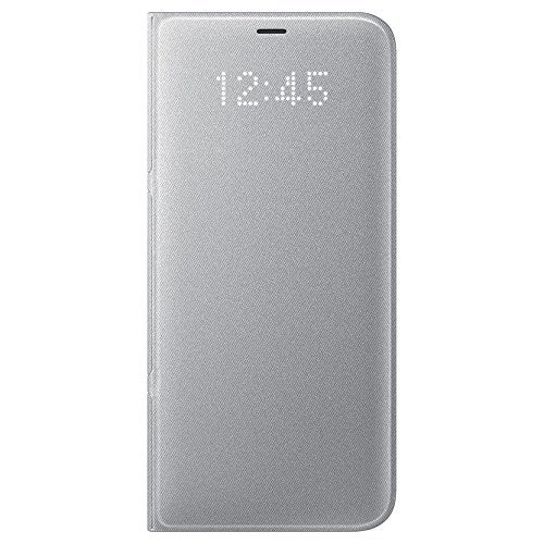 """""""Samsung LED Wallet Cover for Samsung Galaxy S8 Plus - Silver LED Wallet Cover for Samsung Galaxy S8 Plus"""""""