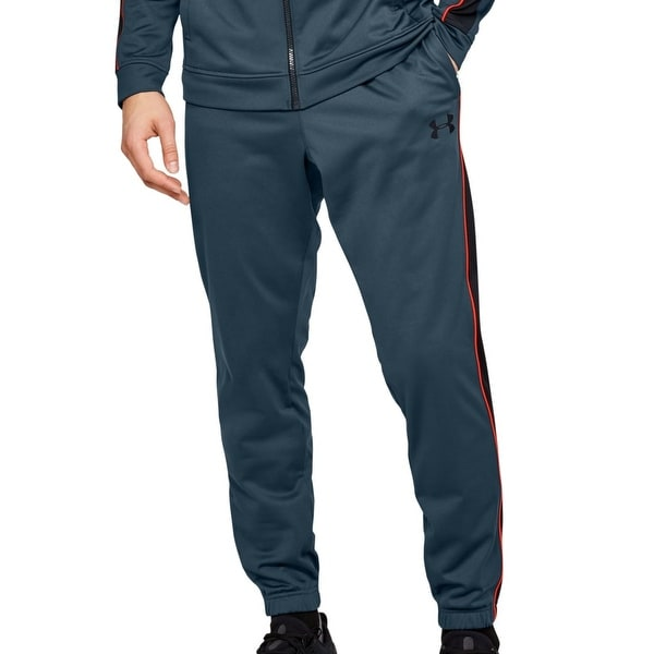 Under Armour Men Unstoppable Track Pant Blue Size 2XL Side Stripe Jogger. Opens flyout.