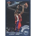 Demarr Johnson Atlanta Hawks 2002 Topps Autographed Card Nice Card This item comes with a certifi