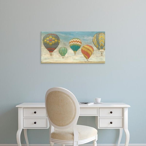 Easy Art Prints Megan Meagher's 'Up in the Air Panorama' Premium Canvas Art