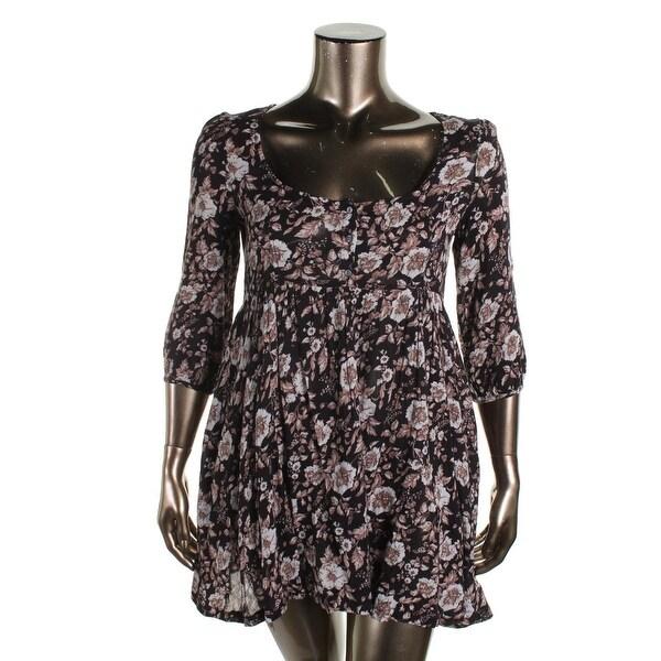 Denim & Supply Ralph Lauren Womens Casual Dress Floral Print Boho - xL