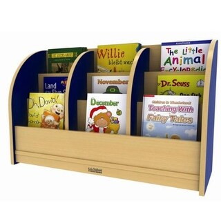 Early Childhood Resource Toddler Single-Sided Book Stand - Blue