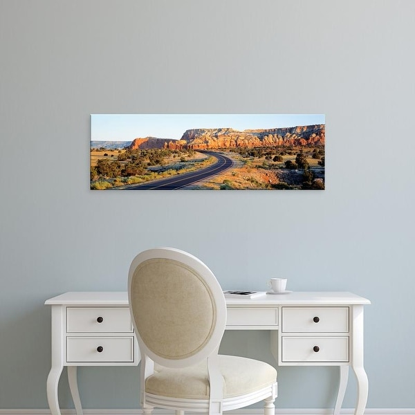 Easy Art Prints Panoramic Images's 'Route 84 NM USA' Premium Canvas Art