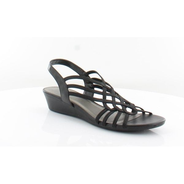 a3d2f079081d Shop IMPO Roma Women s Sandals Black - 9.5 - Free Shipping Today ...