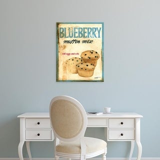 Easy Art Prints Norman Wyatt's 'Blueberry Muffin Mix' Premium Canvas Art
