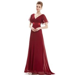 Ever-Pretty Womens Glamorous V-neck Formal Evening Dress 09890