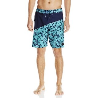 O'Neill Men's Hyperfreak Oblique 2.0 33 Turquoise Boardshort Swim Trunks