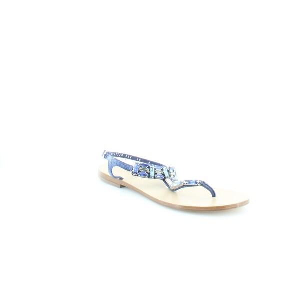 Salvatore Ferragamo Gelsino Women's Sandals Ocean - 10