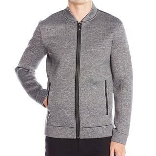 Calvin Klein NEW Gray Mens Size Medium M Zip-Front Quilted Jacket